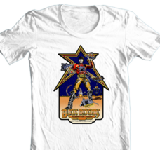 Buck Rogers T-shirt Planet Zoom arcade video game 80's 100% cotton graphic tee image 2