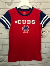 Chicago Cubs T-shirt MLB Genuine Merchandise Girls   / Size:  Large 10/12 - $10.88