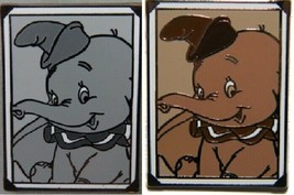 Disney Disney Dumbo Snapshots Sepia and Black & White Limited Release 2 ... - $14.05