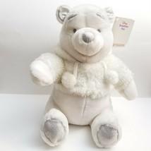 Disney Store Winnie The Pooh Snowflake Pals Plush Teddy Bear Stuffed Ani... - $24.18