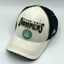 Boston Celtics 2008 NBA Champions Locker Room The Finals Hook Loop Adidas Hat - $24.99