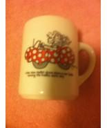 RARE VINTAGE GTE COFFEE MUG--LITTLE MISS MUFFET DROVE A TUFFET---FREE SH... - $17.19
