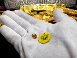 ATOCHA 1622 GOLD BEAD ARTIFACT MEL FISHER TREASURE SALVORS COA PIRATE TR... - $1,695.00