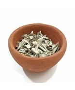 "Organic Handmade Clay Incense Burner Smudging Bowl La Chamba Brown  H2""xD3"" - $26.03"