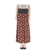 Strawberry Ice Creams Printed Women's Elastic Full Length Maxi Skirt Siz... - $28.99+
