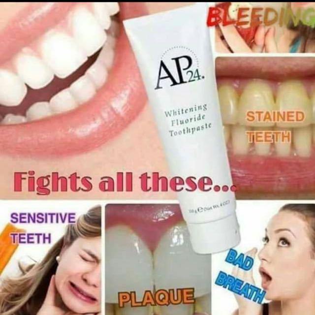 Nu Skin AP 24 Whitening Flouride Toothpaste