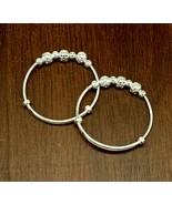 925 sterling silver adjustable baby bangle bracelet unisex kids jewelry ... - $39.59