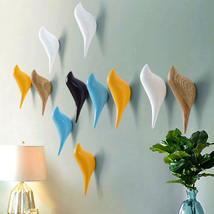 Resin Wall Coat Rack Home Wall Hanger Hook Decoration Bird Rack - $19.99