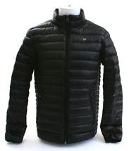 Calvin Klein Black Classic Zip Front Packable Down Jacket Men's NWT - $169.49