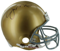 Joe Montana signed Notre Dame Fighting Irish Riddell TB Mini Helmet- Mon... - $178.95