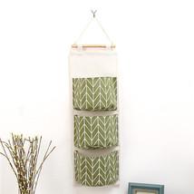 Cute Wall Sundry Cotton Line Hanging Organizer Bag Multi-layer Holder Ma... - $17.93 CAD