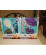 Lot of 2 Journey Girl Outfit Accessories Package NEW NIP Doll Rain Hat Hippie - $23.74