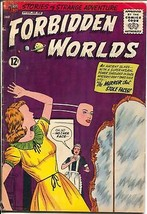 Forbidden Worlds #109 1962-ACG-horror cover-dinosaur story-VG - $37.83