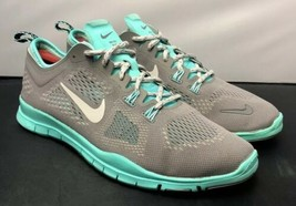 Nike Free 5.0 TR Fit 4 629496 200 Gray Mint Green Womens Size 9.5 Fast S... - $49.50