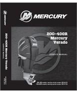Mercury Verado L6 200 225 250 275 300 350 400R Outboard Motor Service Ma... - $12.00