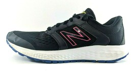 New Balance ComfortRide 520 Womens 9.5 Lightweight Running Shoes Black Pink Blue - $28.84