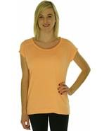 Marmalade Orange  WomensDesigner Calvin Klein Performance Workout Shirt - $12.00