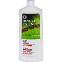 Desert Essence Mouthwash - Natural Neem - Cinnamint - 16 oz - $14.04