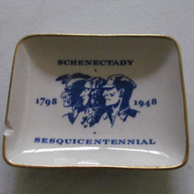 1948 Schenectady NY Sesquicentennial Commemorative Plate 1798-1948 Tatle... - $22.99