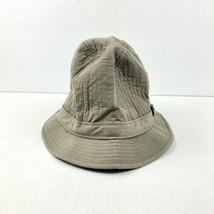 Dorfman Pacific Scala Medium Cotton And Polyester Blend Bucket Hat Tan/K... - $12.86