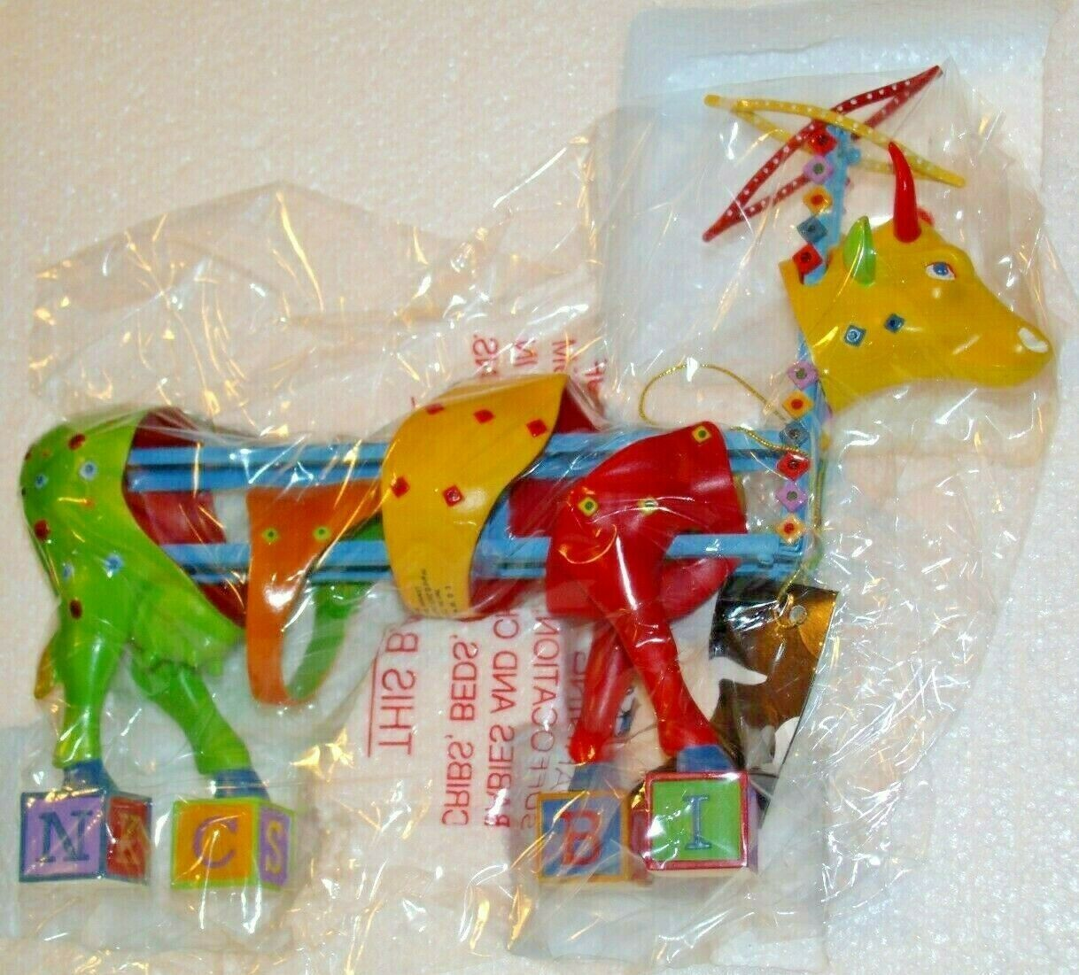 CowParade Kids Kowstruction Item # 7260 AA-191958 Collectible