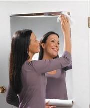 Wall Foil Mirror Decorative Wall Sticker Self-adhesive Decal Home Decor ... - $16.75