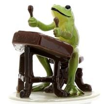 Hagen-Renaker Specialties Froggie Mountain Breakdown Bluegrass Frog Dulcimer   image 5