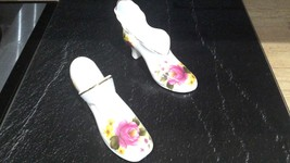 2 x Roy Kirkham fine bone china shoes made in England - $5.00