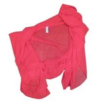 Zuliana Swimwear & Cover-Ups Womens Red Wrap Sheer Sarong One Size - $14.85