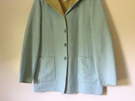 Louis Feraud Finition Main Baby Blue Blazer Jacket Made in Italy No Size Tag image 3