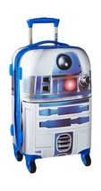 """American Tourister Star Wars 21"""" Spinner Luggage Kids Teens Travel Suitcase Bag - $125.92"""