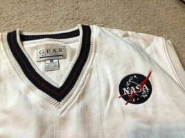 A Collectible Vintage NWOT NASA Gear ribbed knit golf vest - $38.99