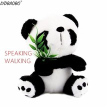 LYDBAOBO 1PC 18CM Talking Panda Pet Plush Toy Hot Cute Walking Speak Sou... - $14.20