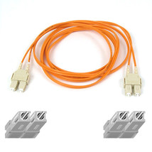 Belkin Multimode SC/SC Duplex Fiber Patch Cable 3m SCSI cable Orange - $62.95