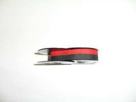 Kmart Deluxe 100 Typewriter Ribbon Black and Red Twin Spool