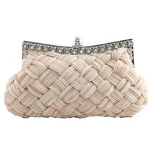 2017 Fashion Satin messenger solid color luxury handbags women bags desi... - $26.60