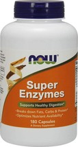 NOW Foods Supplements, Super Enzymes, Formulated with Ox - $24.99