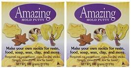 2-PACK - Alumilite Amazing Mold Putty Kit, 0.66-Pound each - $36.67