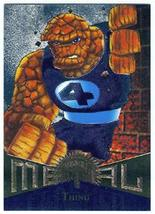 Fleer Marvel Metal #42 THING Silver Parallel Chase Card - $2.93