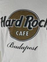Hard Rock Cafe Budapest Size XX Large 100% Cotton T-Shirt Old Logo - $11.12