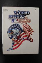 1980 World Series Program Un SCored Phillies vs Royals Schmidt MVP - $29.69