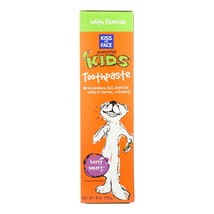 Kiss My Face Kids Toothpaste with Fluoride Berry Smart - 4 oz - $5.99