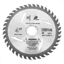 4 Inch 40Teeth Circular Saw Blades Tungsten Steel Alloy Saw Blades - $10.70