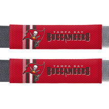 Tampa Bay Buccaneers Seat Belt Pads Rally Design**Free Shipping** - $18.05