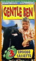 Gentle Ben (3 Episodes) [VHS Tape] - $9.89
