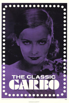Greta Garbo Classic Tinted Art 16x20 Canvas - $69.99