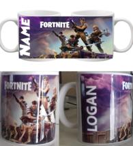 Personalised Fortnite Mug Name Coffee Cup Tea Gift Birthday Christmas  - $1.27+