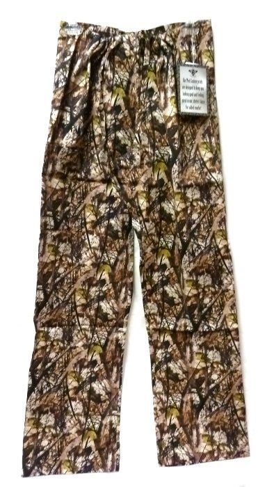 Med Couture XS Peaches Uniforms Unisex Natural Disguise Camo Scrub Set New image 4
