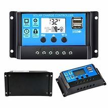 Solar Charge Controller 30A, Solar Panel Battery Controller 12V/24V PWM ... - €14,99 EUR