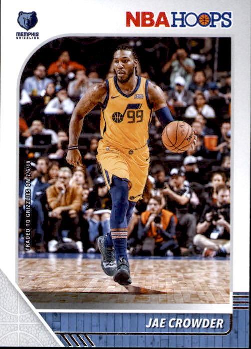 Jae Crowder 2019-20 Panini NBA Hoops Card #92